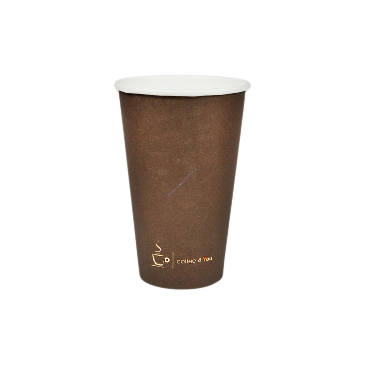Kubek papierowy 400ml Coffee For You C4U 100 szt Kram