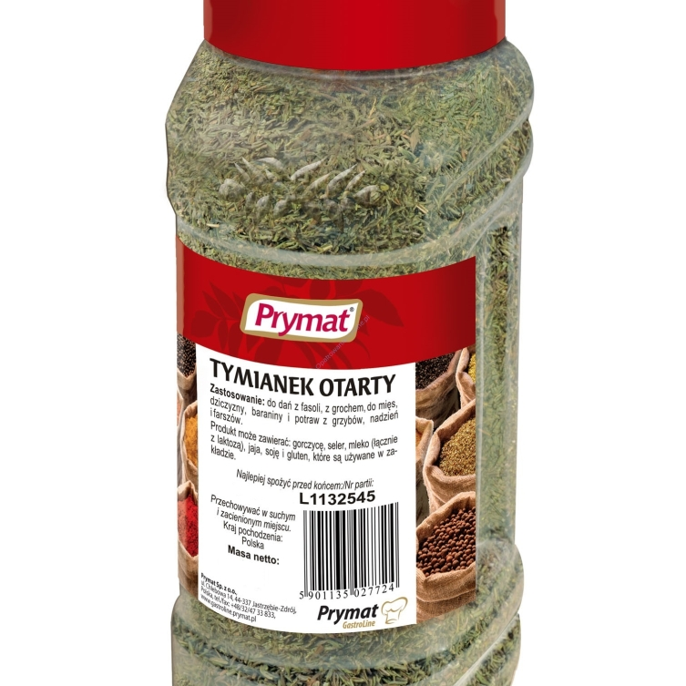 Tymianek otarty 160g Catering PET Prymat